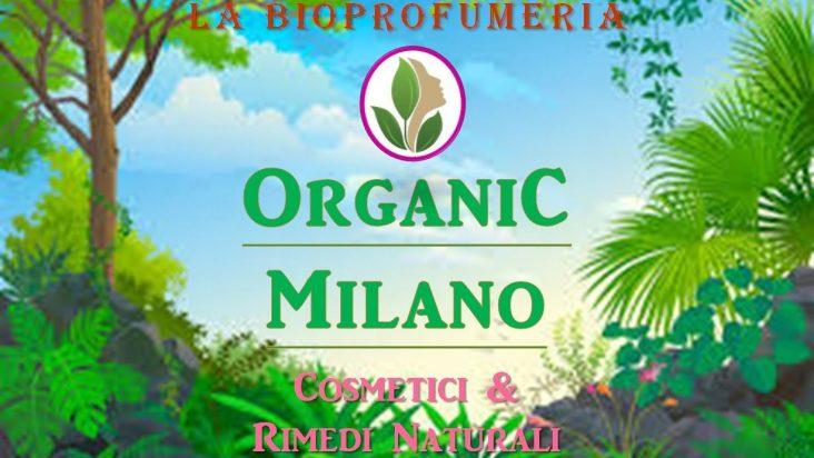 Cambio nome Bioprofumeria Amate Milano con Organic Milano