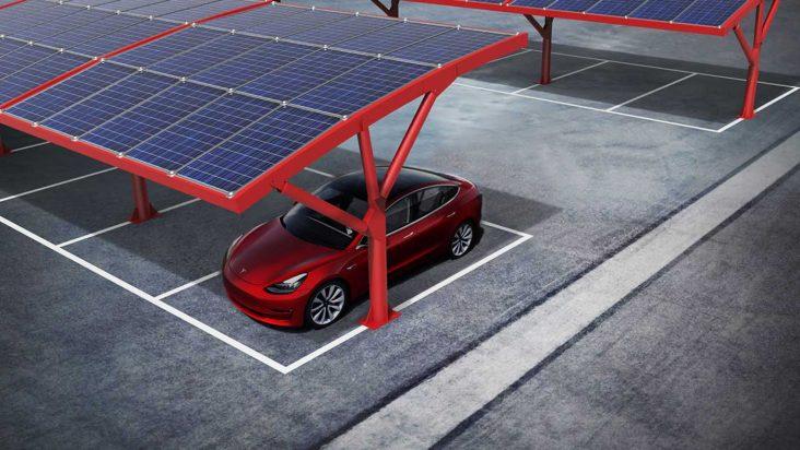 Pensiline fotovoltaiche – Mini guida alle tettoie per stazioni di ricarica auto elettriche