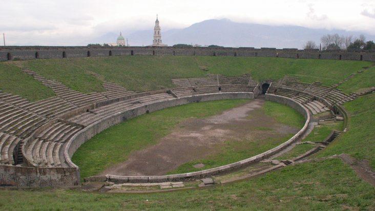 Lo stadio di Pompei, l'Anfiteatro