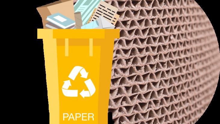 Il riciclaggio di carta e cartone